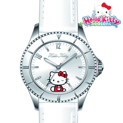 Ceas de dama Hello Kitty Silver