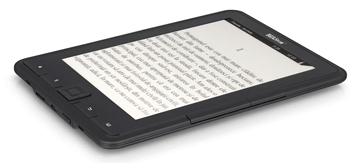 eBook Reader Pyrus E-Ink ca o carte