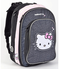 Ghiozdan anatomic, ergonomic Hello Kitty