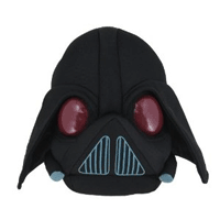 Jucarie de plus Razboiul Stelelor Angry Birds - Darth Vader