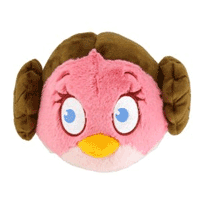 Jucarie plus Figurine Angry Birds Star Wars - Printesa Leia