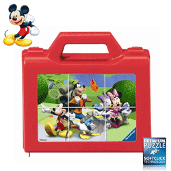 Puzzle Mickey Mouse cuburi Ravensburger