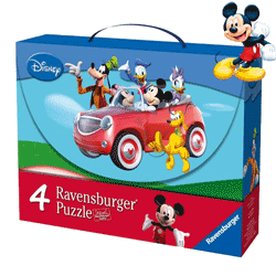 Set puzzle copii Mickey Mouse