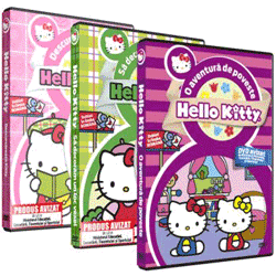 DVD-uri desene animate in limba romana Hello Kitty