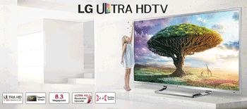 Ultra Smart HD TV Led diagonala mare 2,13 metri! LG 84LM960V