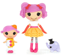 Lalaloopsy - Surioara mini (Squirt LilTop si Peanut Big Top)