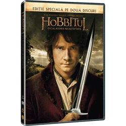 Hobbit-ul O calatorie neasteptata Film DVD, BluRay, 3D