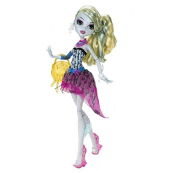 Papusa Monster High Lagoona Blue, este o jucarie originala Mattel