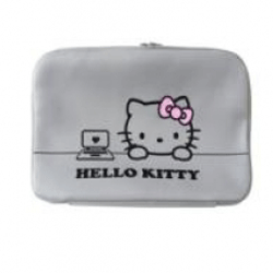 Husa Laptop Hello Kitty alba