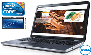 Laptop Dell Inspiron 17R 5721 – Laptop Full HD, display 17 inch, procesor Intel i7 si 8Gb in oferta de pret