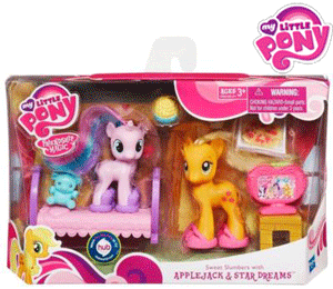 My Little Pony - Sweet Slumbers with Applejack & Star Dreams