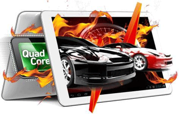 Tableta Evolio Quadra, Procesor Quad-Core 1.2 GHz Cortex A9, Super IPS