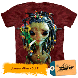 Tricou 3D The Mountain Jammin Alien