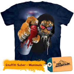 Tricou The Mountain Graffiti Saber