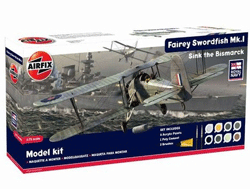 Kit constructie model Fairey Swordfish M