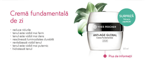 Crema fundamentala de zi din gama Anti-age Global