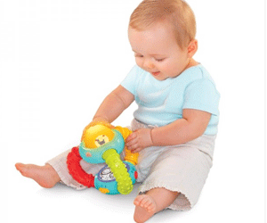 Jucarie interactiva Bright Stars Light & Music