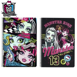 Caiet de matematica Monster High