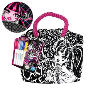 Coloreaza-ti singura gentuta Monster High