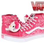 Ghete bascheti Vans Hello Kitty