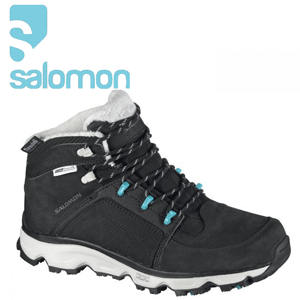 Ghete de dama imblanite Salomon Rodeo WP