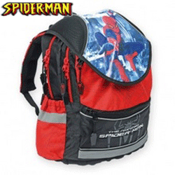 Ghiozdanul anatomic SpiderMan