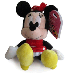 Jucarie de plus Disney I love Minnie Mouse