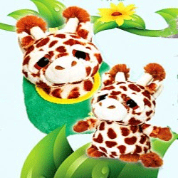 Girafa de plus Podlings