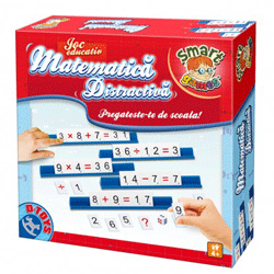 Joc educativ: Matematica distractiva