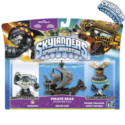 Pachet Skylanders - Pirate Adventures
