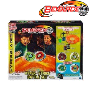 Hasbro - Titirezi Beyblade - Hyper Strike Battle Set
