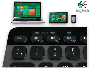 Logitech K810 PC, Tablet Smartphone Keyboard