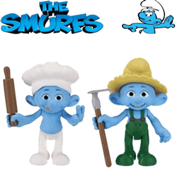 Figurine Strumfii – The Smurfs