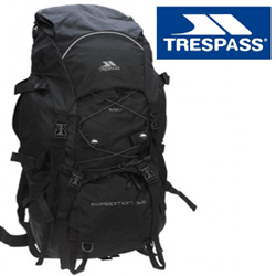 Rucsac de calitate Trespass Expedition X Black