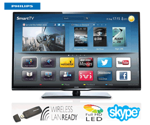 Smart TV Phillips 32PFL3258T in oferta