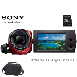 Sony HDRCX220ER camera video in oferta de pret (card si geanta cadou)