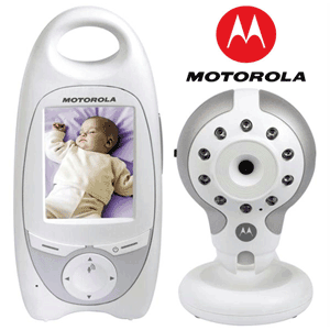 Video Baby Monitor Motorola MBP30, Wireless, Infrarosu si Display Color