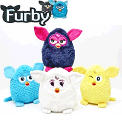 Jucarie Furby mare animalut 29 cm