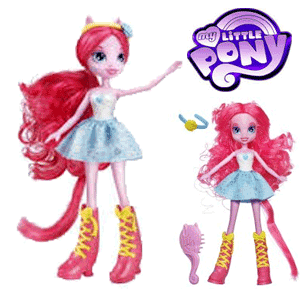 Papusi My Little Pony Equestria Pinkie Pie