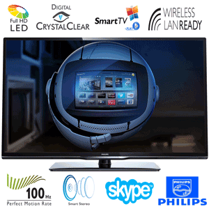 Televizor LED Philips 32PFL3258. Un Smart TV mai ieftin in oferta de pret.