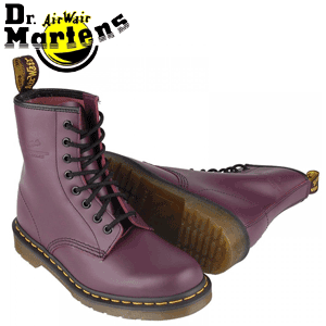 Ghete femei Dr.Martens 1460 Purple Violet Smooth