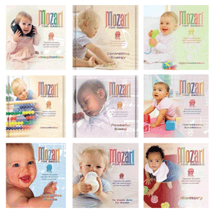 Mozart for babies – music online available on amazon