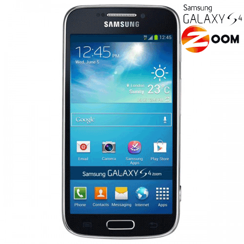 Aparat foto digital cu smartphone integrat: Samsung Galaxy S4 Zoom 16mp