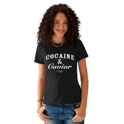 Tricou fete Cocaine and Caviar