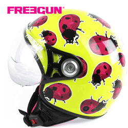 Casca universala ski Freegun model copii Buburuza