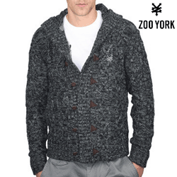Pulover barbatesc cardigan Zoo York