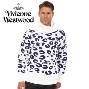 Vivienne Westwood MAN Camouflage Jacquard Sweater