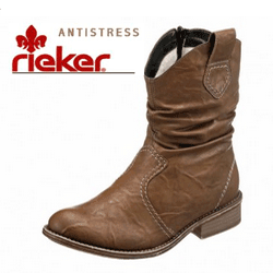 Ghete dama Rieker Antistress toc 25mm