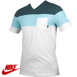 Tricou Nike Color Block VNeck Pocket Tee