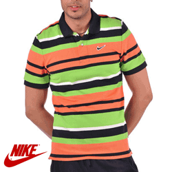 Tricou barbati Nike Club Pique Stripe Polo